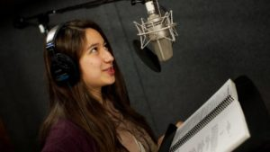 professional voice recording services for credit card companies