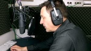 professional voiceover recording